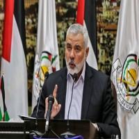 هنية: مسيرات العودة في غزة مستمرة ولن نقبل بأنصاف الحلول