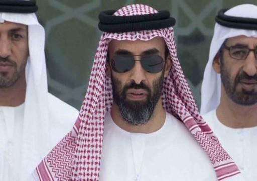 ميدل ايست آي: طحنون بن زايد يزور إيران في مهمة سرية