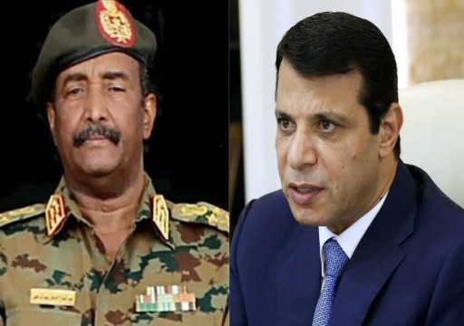 الإمارات تواصل تدخلها في السودان..  دحلان في الخرطوم والتقى قادة الجيش