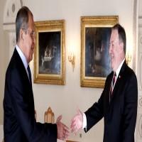 لافروف يبحث مع بومبيو القضية السورية هاتفيا