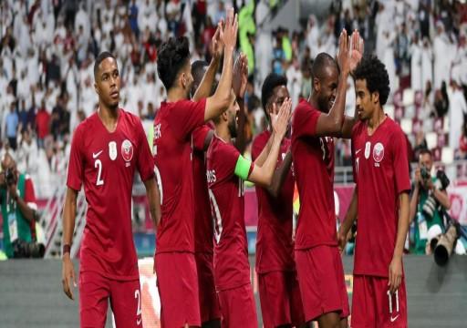 """""""العنابي"""" يقصي الإمارات من """"خليجي 24"""" ويتأهل لنصف النهائي"""