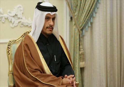 وزير خارجية قطر يبحث مع نظيره الباكستاني تطورات المنطقة