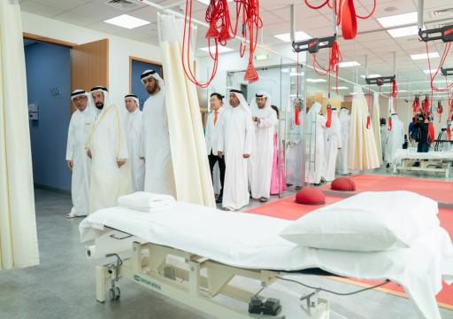 حاكم الشارقة يفتتح مركزاً لجراحة العمود الفقري والمفاصل