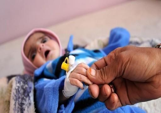 الأمم المتحدة: 7.6 مليون شخص في اليمن بحاجة للعلاج من سوء التغذية
