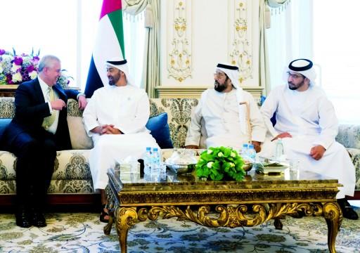 محمد بن زايد: علاقات تاريخية تربط الإمارات ببريطانيا