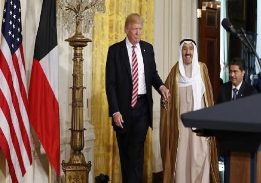 أمير الكويت إلى الولايات المتحدة في زيارة خاصة قبيل لقاء ترامب