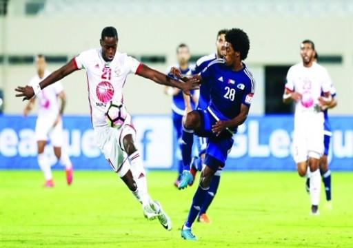 الشارقة يسقط أمام بني ياس في كأس الخليج