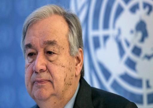 الأمم المتحدة تحث على الوقف الفوري للتصعيد في غزة