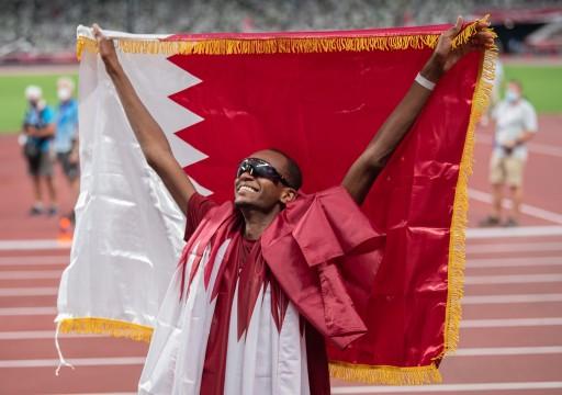 القطري معتز برشم يهدي بلاده ثاني ميدالية ذهبية أولمبية بتاريخها