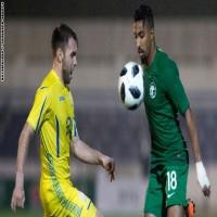 السعودية تتعادل مع أوكرانيا في ثالث مواجهاتها التحضيرية لكأس العالم