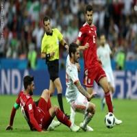 إيران تخسر بصعوبة أمام إسبانيا والحسم يتأجل للجولة المقبلة