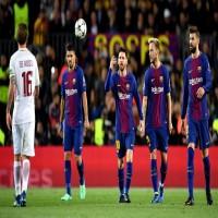برشلونة يحقق فوزاً على حساب ضيفه روما في دوري أبطال أوروبا