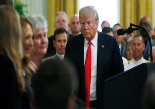 الغارديان: ترامب يعاني مع تزايد مخاطر محاولة عزله