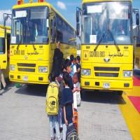 في عجمان.. حافلات مدرسية «تضع» الطلاب في مواقع خطرة