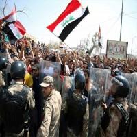 انتفاضة العراقيين تتصاعد وسقوط قتلى وجرحى