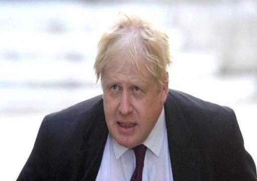 محمد بن زايد يجري اتصالا برئيس وزراء بريطانيا بوريس جونسون