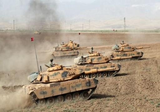أنقرة تكشف عن عمق عملياتها العسكرية بسوريا