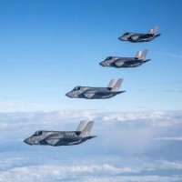 الأسطول الأمريكي الخامس يعلن وصول طائرات إف-35 إلى الخليج العربي