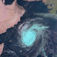 توقعات بوصول إعصار مكونو إلى مناطق الدولة القريبة من حدود عمان