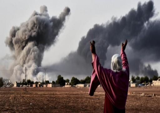 مقتل 14 من داعش في قصف للتحالف الدولي شمالي العراق