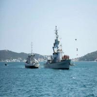 مناورات إسرائيلية - فرنسية في البحر المتوسط