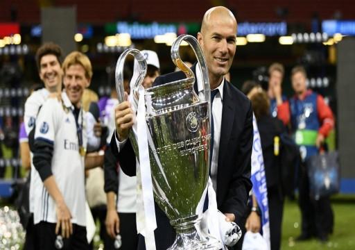 زيدان يقبل التحدي ويعود مدرباً لريال مدريد الإسباني