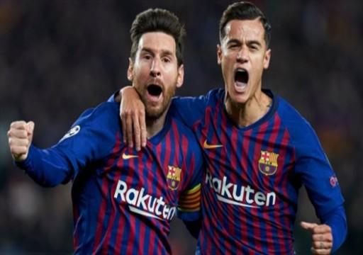 برشلونة يصالح جمهوره بثنائية في شباك خيتافي بالدوري الإسباني