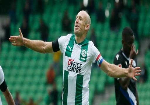الجناح الهولندي روبن يعلن اعتزال كرة القدم بشكل نهائي