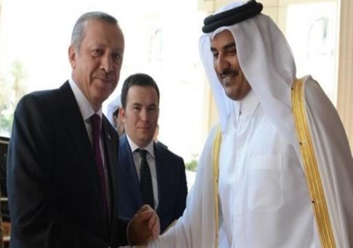 أمير قطر يبحث مع أردوغان التعاون لمكافحة كورونا