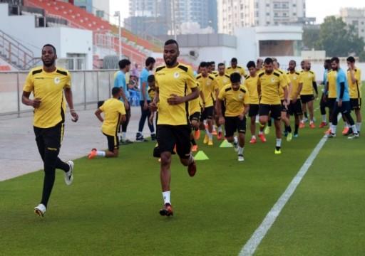 عجمان يقيم معسكراً في مصر وتأمين 3 مباريات ودية