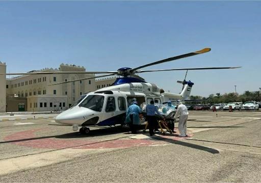 مقتل أربعة في تحطم طائرة إسعاف في أبوظبي