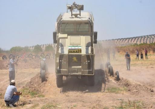 الجيش السوري الحر ينتج أول مركبة مدرعة متطورة
