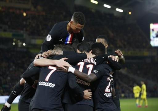 باريس سان جيرمان يهزم نانت في الدوري الفرنسي