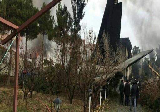 تحطم طائرة شحن غرب طهران ومصرع 10 أشخاص