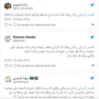 مغردون يتضامنون مع عضو المجلس الوطني الرميثي لانتقاده قناة أبوظبي