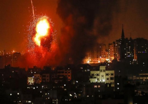 طائرات الاحتلال تشن غارات على غزة