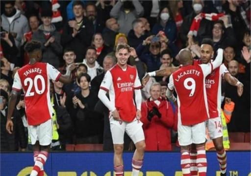 أرسنال يفوز على أستون فيلا في الدوري الإنجليزي