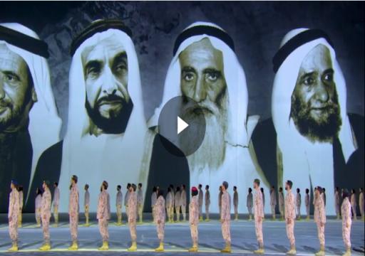 محمد بن راشد  والحكام يشهدون الاحتفال الرسمي باليوم الوطني الـ 47