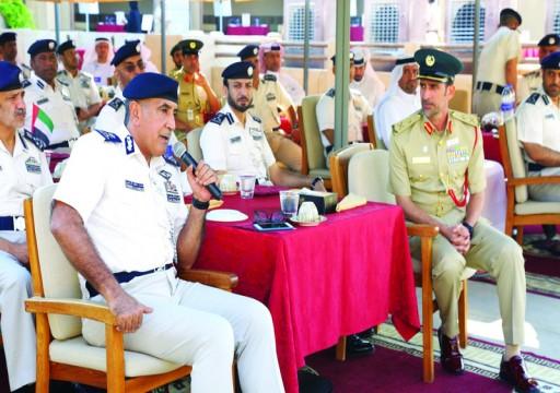 """""""مجلس الريادة الأمني"""" يجمع بين شرطة أبوظبي ونظيرتها في دبي"""