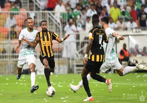 الأهلي يحسم ديربي جدة بثنائية في الدوري السعودي