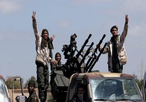 """مقاتلات تابعة لـ""""حفتر"""" تقصف مواقع لقوات الوفاق جنوبي طرابلس"""