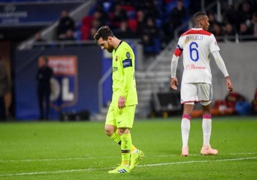 أبطال أوروبا: ليون الفرنسي يجبر برشلونة على التعادل.. وليفربول يسقط أمام بايرن