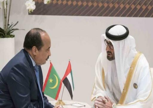 الإمارات وموريتانيا تبحثان طرق تعزير تعاونهما العسكري