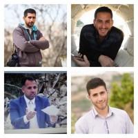 جيش الاحتلال يعتقل أربعة صحفيين فلسطينيين من رام الله