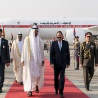 في أول زيارة بعد الانتخابات الرئاسية المصرية.. «محمد بن زايد» يصل القاهرة
