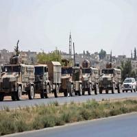 تركيا.. تعزيزات عسكرية جديدة تصل الحدود السورية
