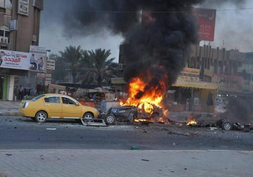 مقتل ضابط بالاستخبارات وإصابة آخرين في تفجير سيارة مفخخة غربي العراق