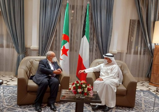 وزير خارجية الكويت في الجزائر لبحث العلاقات وقضايا مشتركة