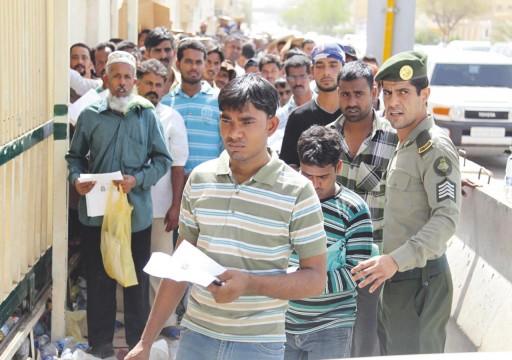 1.9 مليون عامل أجنبي يغادرون السعودية مع تنامي الصعوبات