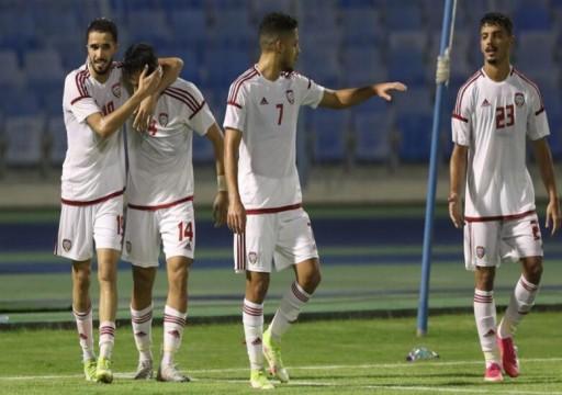 منتخبنا الأولمبي يهزم لبنان بثلاثية في بطولة غرب آسيا